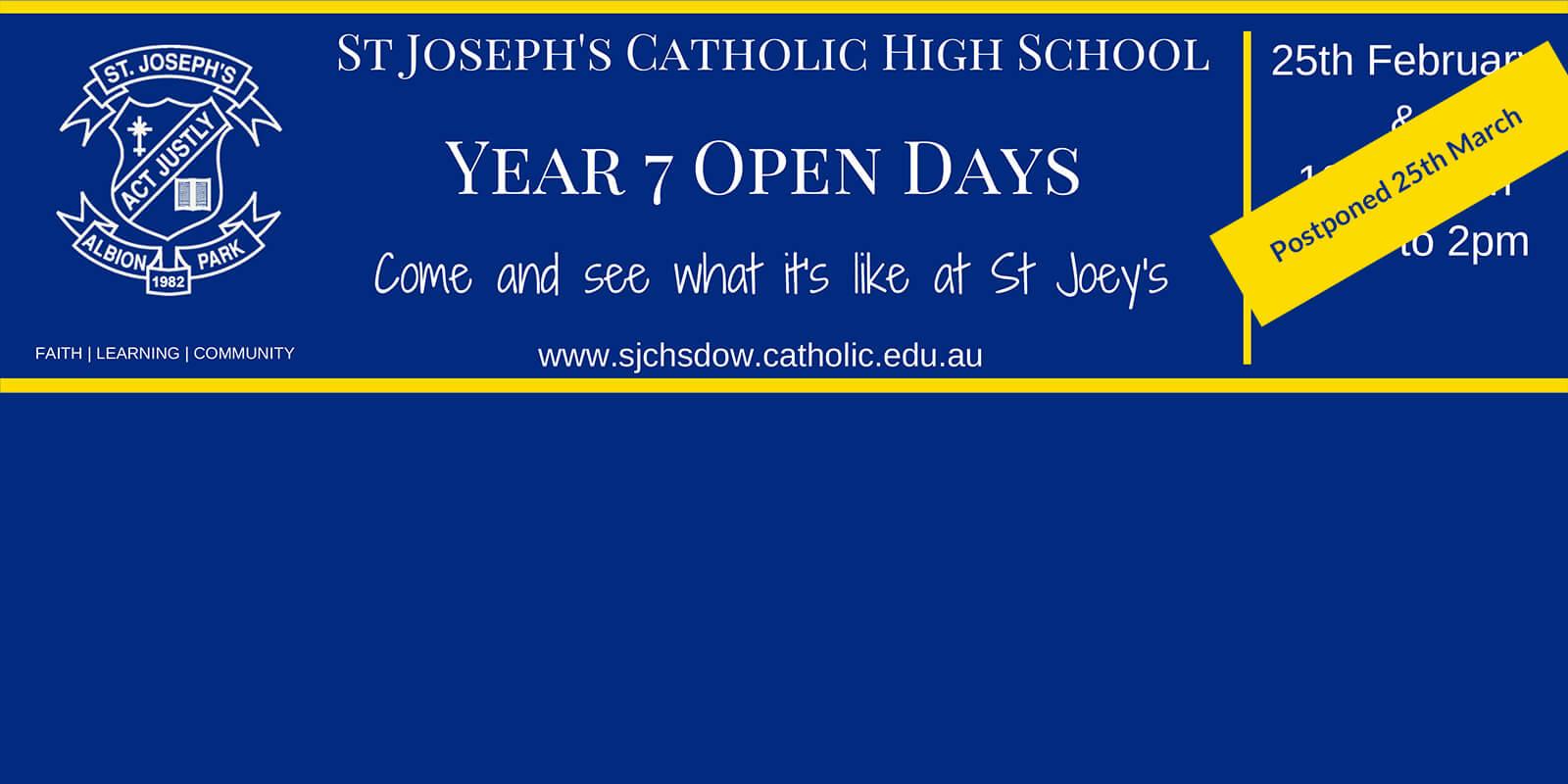 Year 7 Open Days